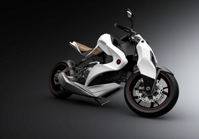Концепт гибридного мотоцикла 2012 Иж-1 (Igor Chak 2012 Izh Concept) от Игоря Чака (Igor Chak)