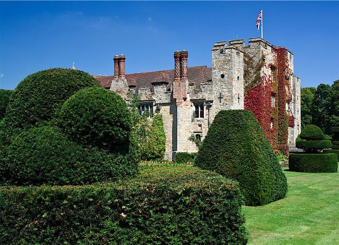 Замок Хивер-кастл - Hever Castle 22901
