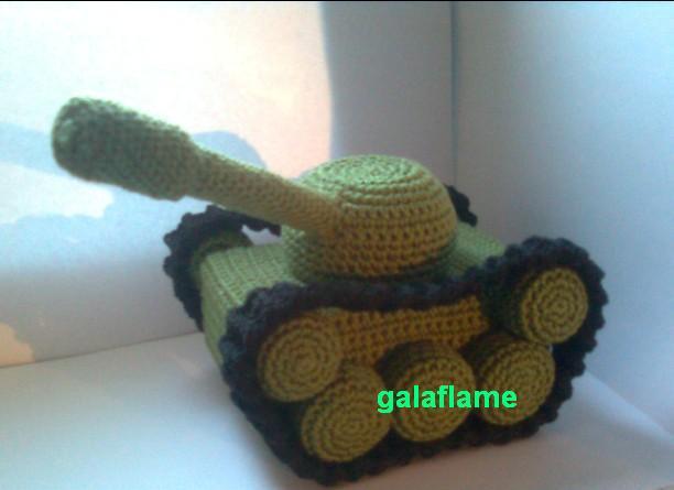 вязаный танк