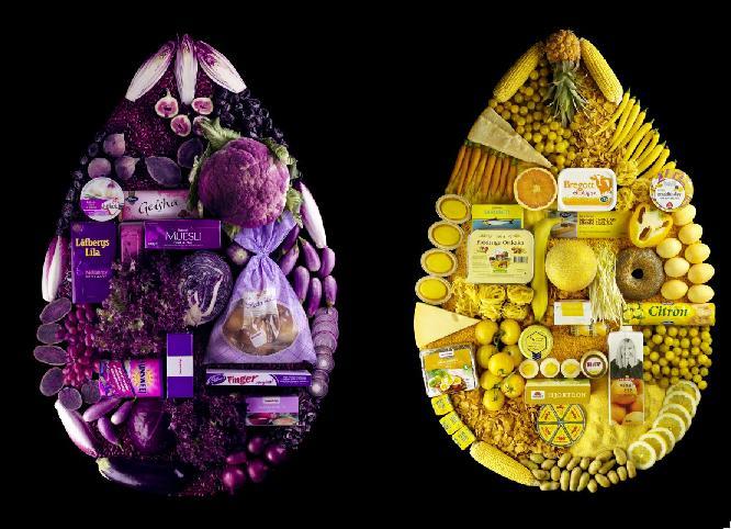Продуктовые картинки Линды Лундгрен. Креативная реклама