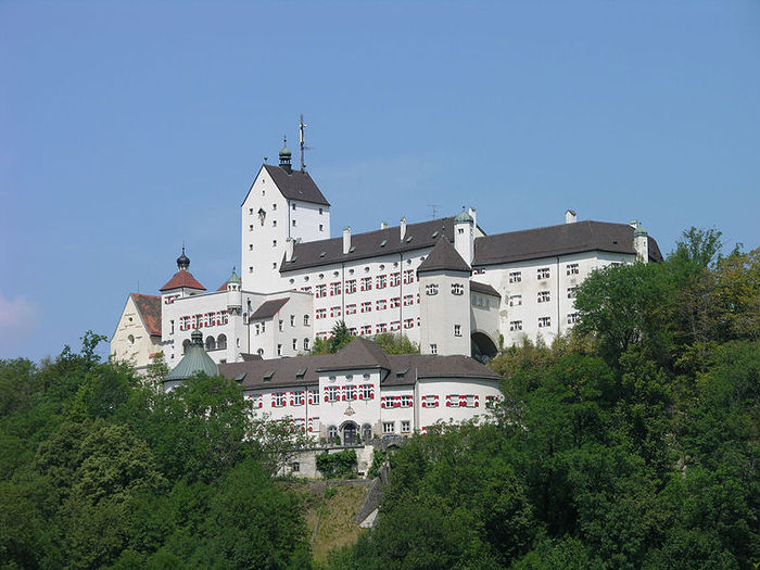 Замок Хоэнашау (Schloss Hohenaschau) 18848