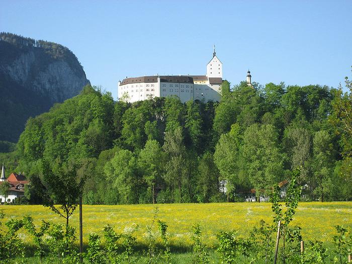 Замок Хоэнашау (Schloss Hohenaschau) 35715