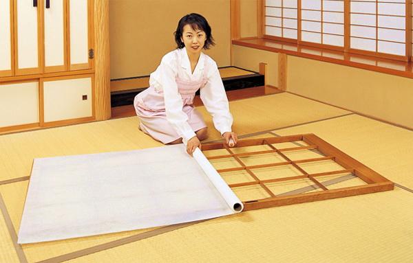 обычного японского дома.