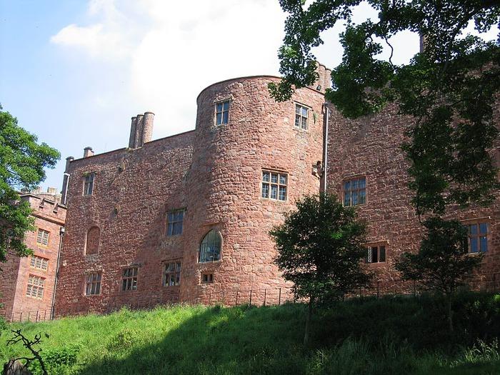 Замок Powis Castle, графство Поуис. 12026