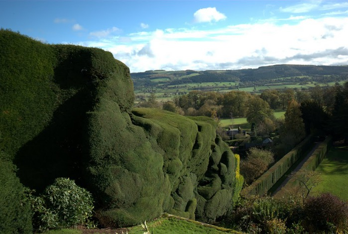 Замок Powis Castle, графство Поуис. 61564