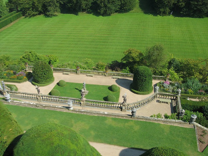 Замок Powis Castle, графство Поуис. 10089
