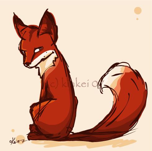 мультяшные картинки лисички