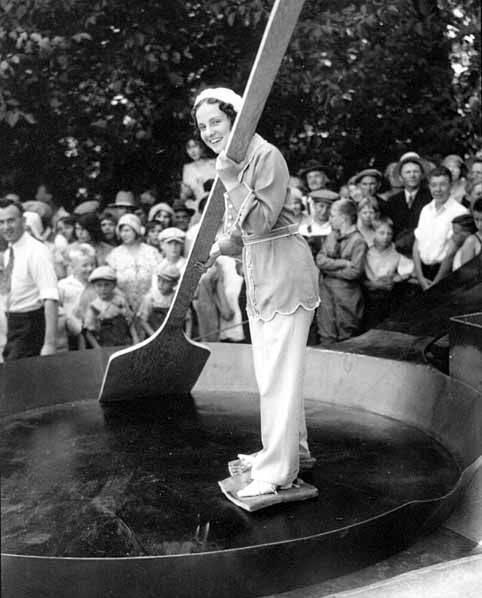баба с веслом
