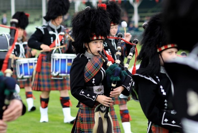 Бреморские Хайленд игры в Шотландии, 4 сентября 2010 года.