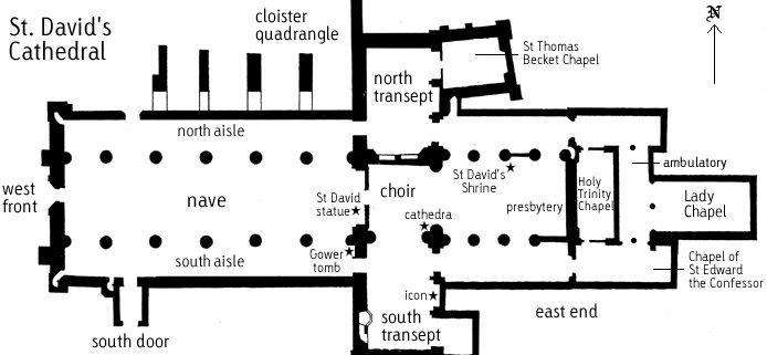 Собор Святого Давида (St David's Cathedral), Уэльс, Англия 37588