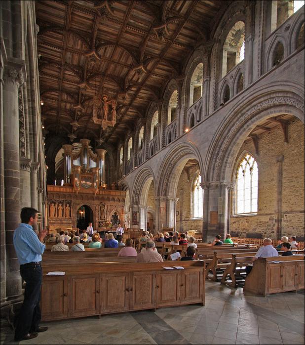 Собор Святого Давида (St David's Cathedral), Уэльс, Англия 21949