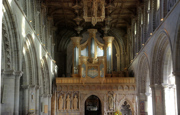 Собор Святого Давида (St David's Cathedral), Уэльс, Англия 25646