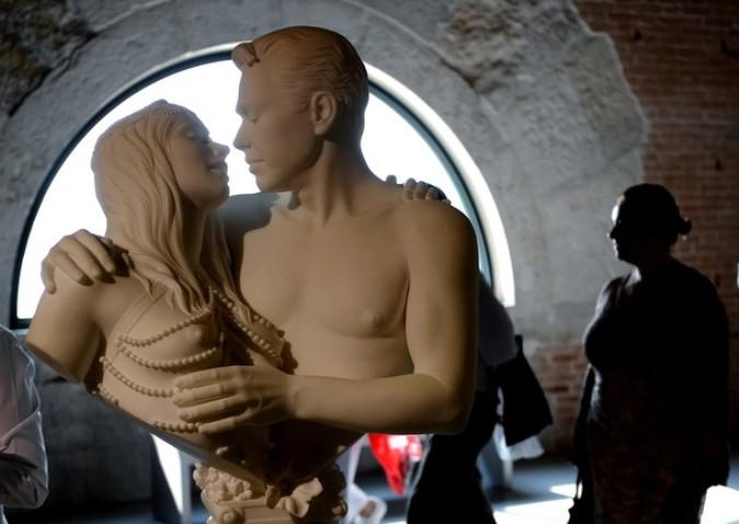 Коллекция современного искусства французского миллиардера Франсуа Пино в Пунта делла Догана в Венеции, 28 августа 2010 года.