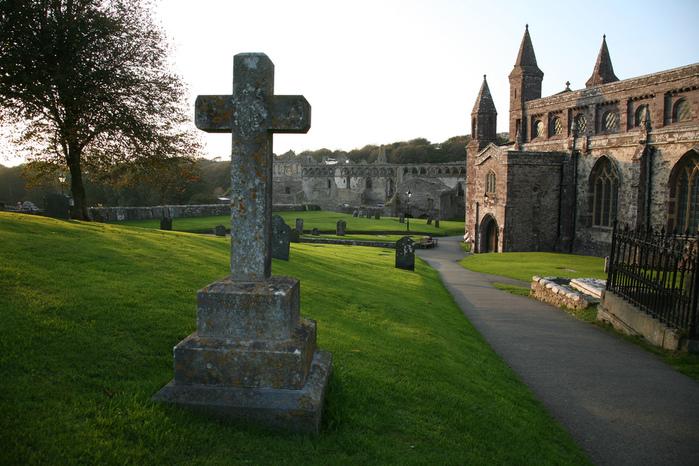 Собор Святого Давида (St David's Cathedral), Уэльс, Англия 70927
