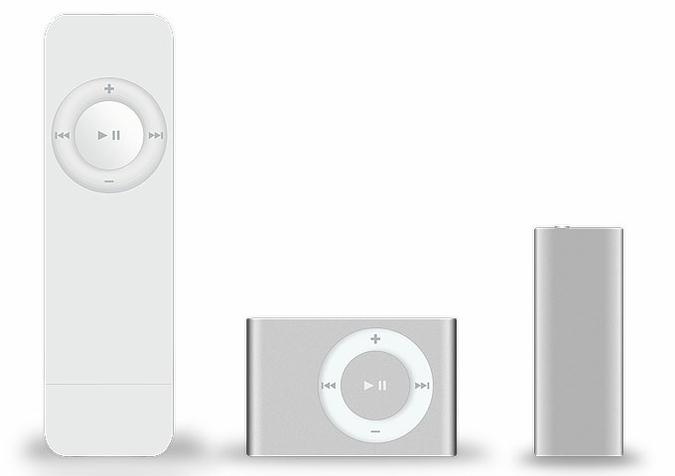 Эволюция медиаплееров iPod