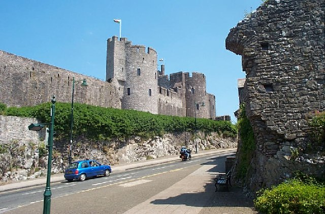 Замок Пембрук в Уэльсе 85782