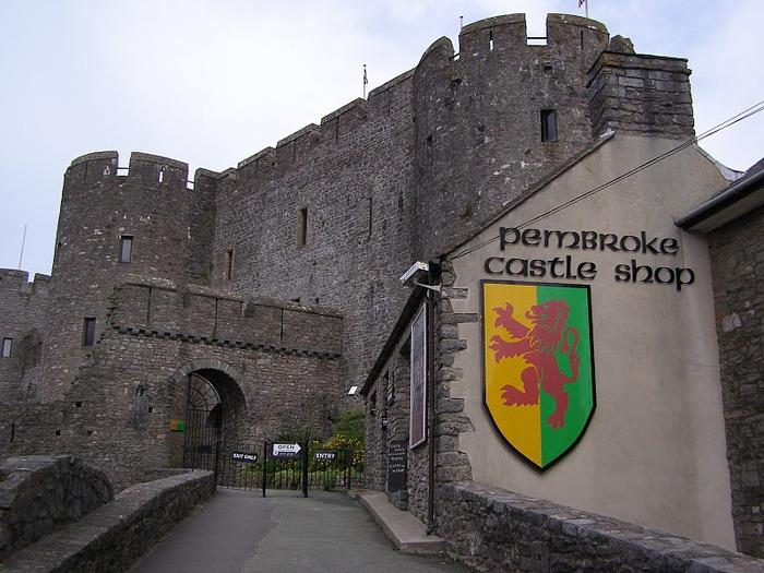 Замок Пембрук в Уэльсе 61923