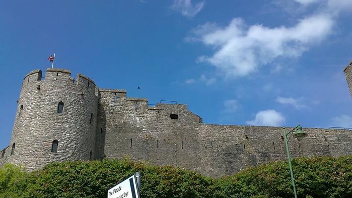 Замок Пембрук в Уэльсе 17735