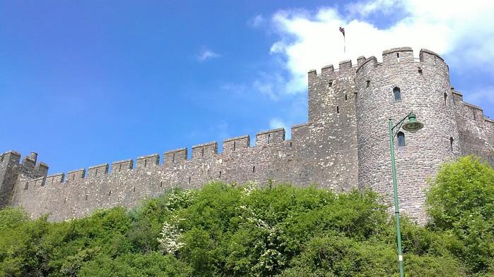 Замок Пембрук в Уэльсе 22189