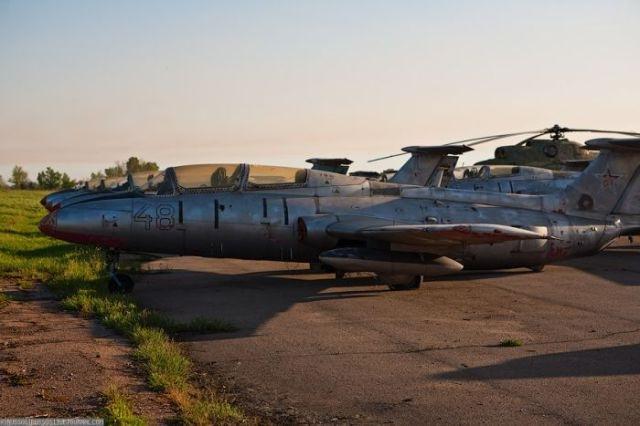 заброшенный аэродром в крыму 41