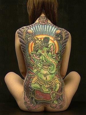 Татуировки на индийскую тематику 17