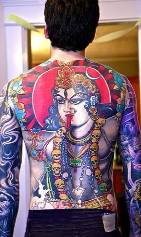 Татуировки на индийскую тематику 37