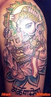 Татуировки на индийскую тематику 53