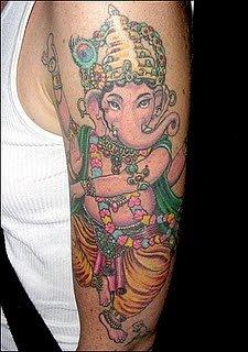 Татуировки на индийскую тематику 62