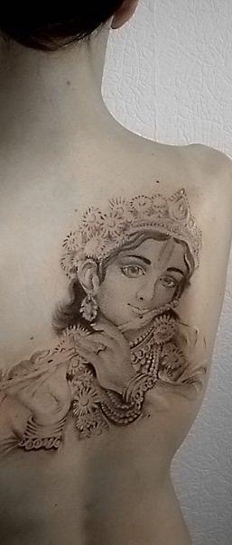 Татуировки на индийскую тематику 2