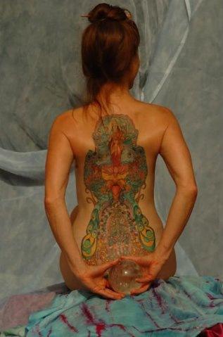 Татуировки на индийскую тематику 25
