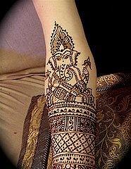 Татуировки на индийскую тематику 32