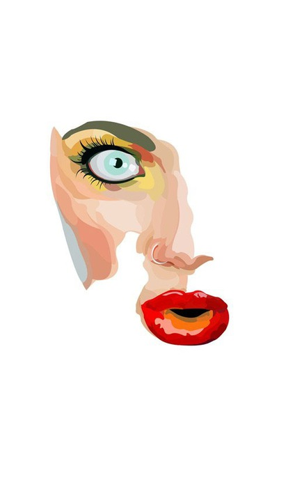 Лица от художника BOBBb12345 9