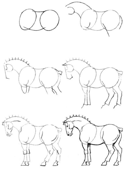 обучение рисовать карандашом: