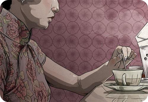 Иллюстратор Matthew Woodson 4