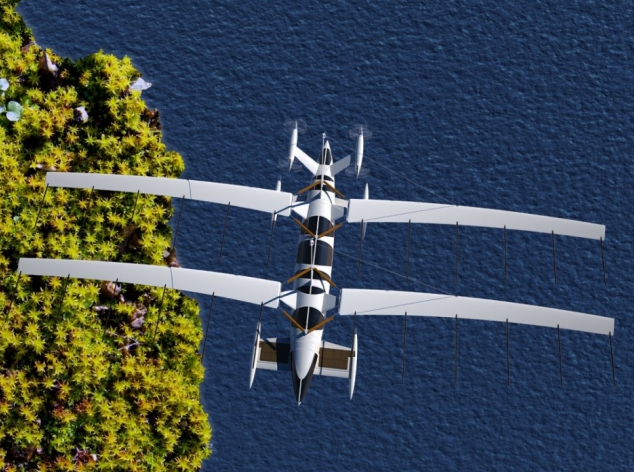 Концепт яхты будущего от Yelken Octuri