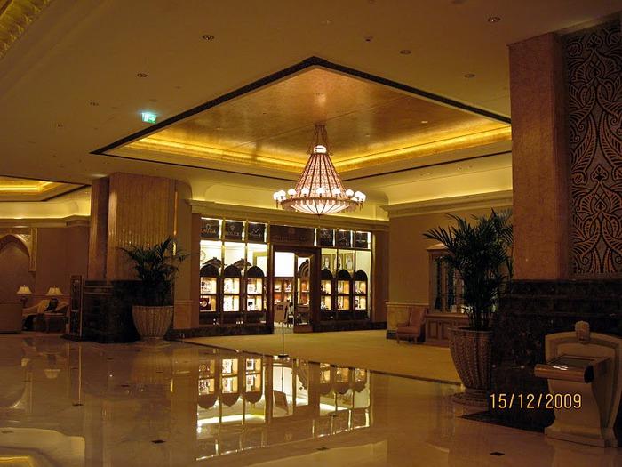 Добро пожаловать в палас-отель «Emirates Palace» 73063