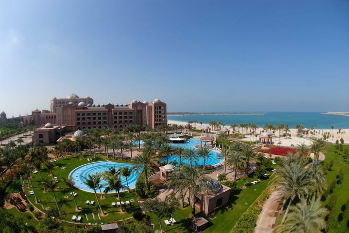 Добро пожаловать в палас-отель «Emirates Palace» 75097