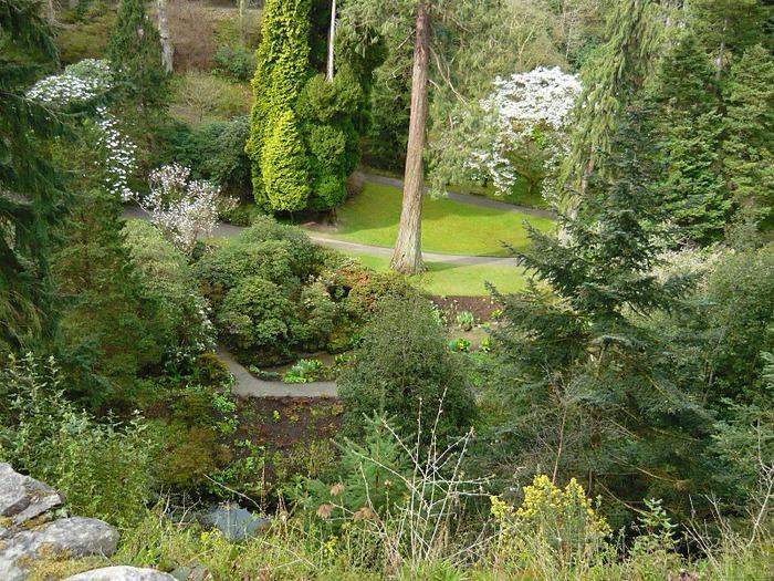 образцовый сад – волшебный Bodnant Garden 29570