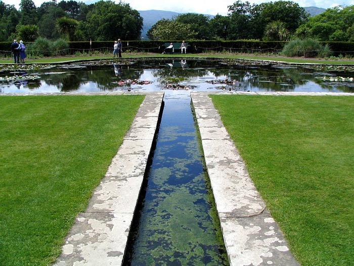образцовый сад – волшебный Bodnant Garden 92591