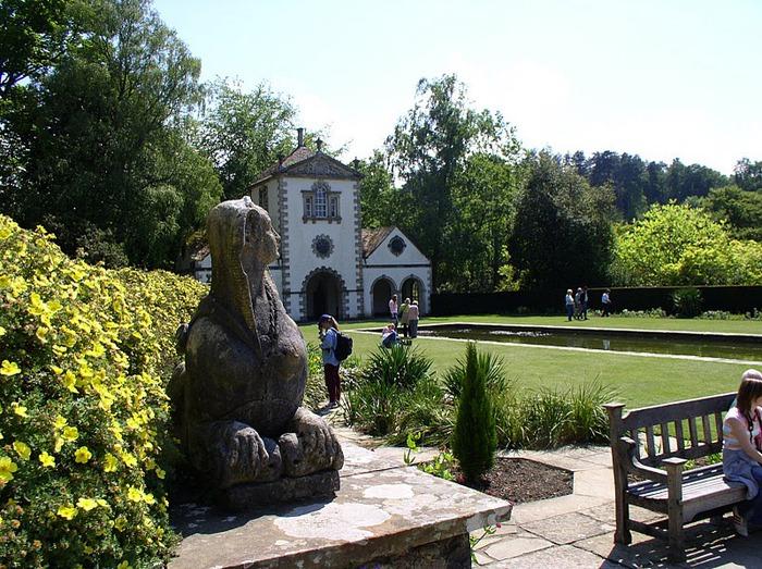 образцовый сад – волшебный Bodnant Garden 14424