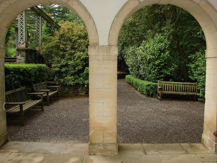 образцовый сад – волшебный Bodnant Garden 33662