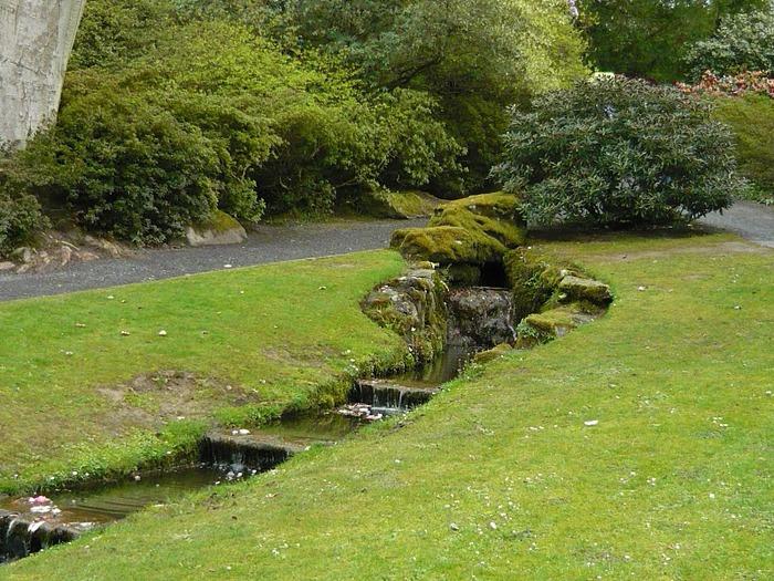 образцовый сад – волшебный Bodnant Garden 62956