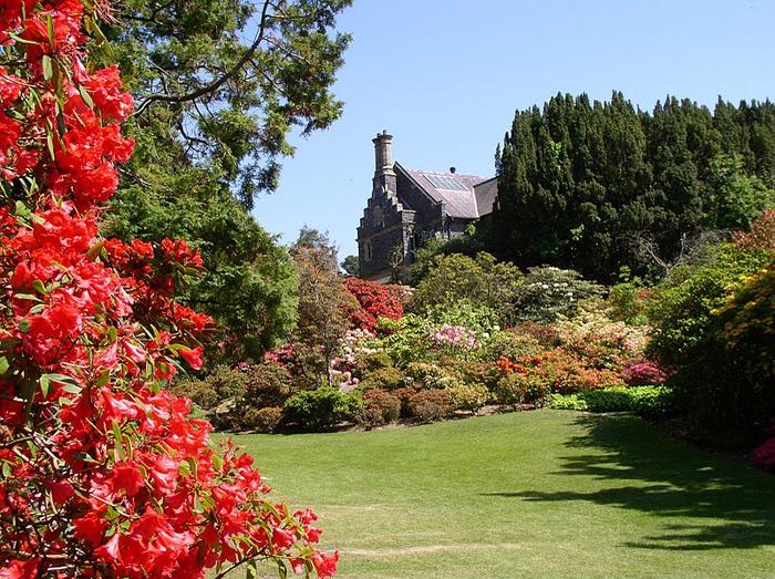 образцовый сад – волшебный Bodnant Garden 59498