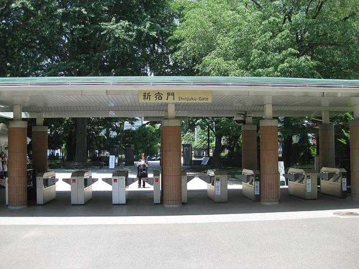 Shinjuku Gyoen - Парк Синдзюку 86716