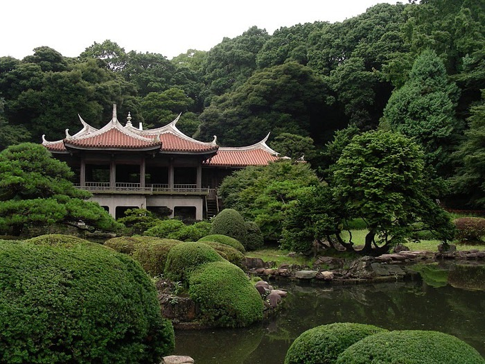 Парк Синдзюку - один из наиболее огромных парков Токио 15