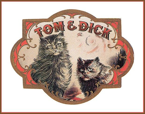 Винтажные открытки с котами 21
