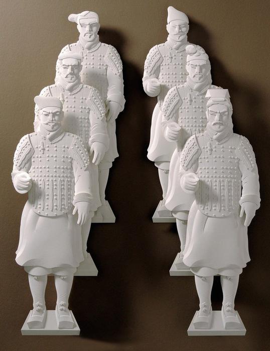 Скульптуры из бумаги от Джефа Нишинаки (JEFF NISHINAKA) 19