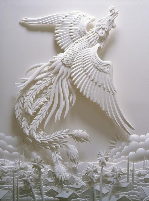 Скульптуры из бумаги от Джефа Нишинаки (JEFF NISHINAKA) 21