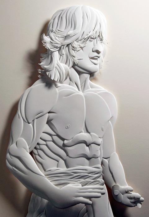 Скульптуры из бумаги от Джефа Нишинаки (JEFF NISHINAKA) 26