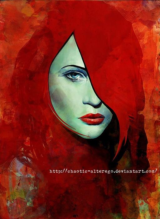 Цифровые художники рисуют цифровые картины 43